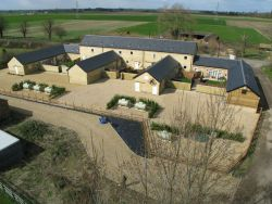 Thorney development from above